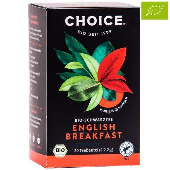 Choice® Schwarztee English Breakfast / BIO 20 x 2.2 g