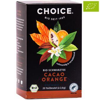 Choice® Schwarztee Cacao Orange / BIO 20 x 2.0 g
