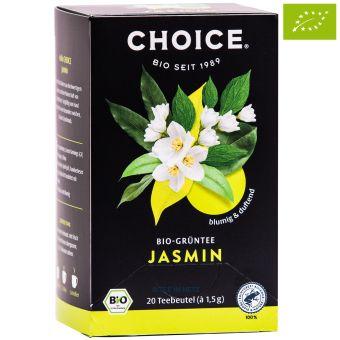 Choice® Grüntee Jasmin / BIO 20 x 1.5 g