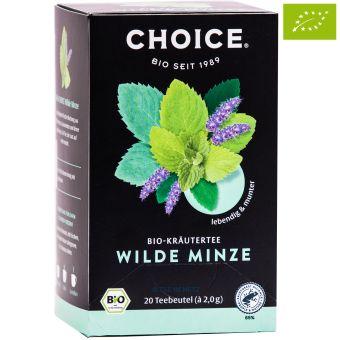 Choice® Kräutertee Wilde Minze / BIO 20 x 2.0 g
