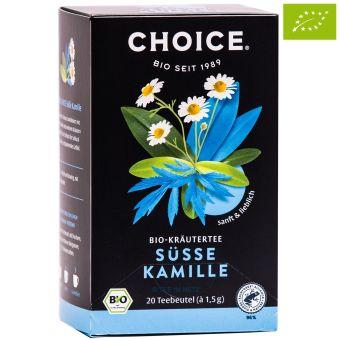 Choice® Kräutertee Süsse Kamille / BIO 20 x 1.5 g