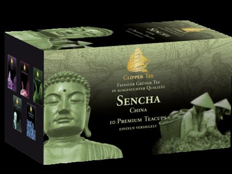 Clipper Tee China Sencha / Kannenbeutel 10 x 1.5 g