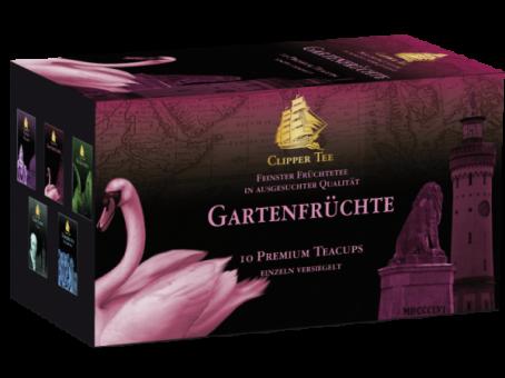 Clipper Tee Gartenfrüchte / Kannenbeutel 10 x 2.0 g