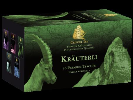 Clipper Tee Kräuterli / Kannenbeutel 10 x 1.5 g