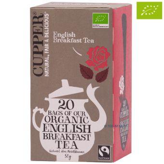 Cupper® English Breakfast Tea / BIO 20 x 2,5 g