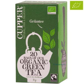 Cupper® Grüner Tee / BIO 20 x 1,75 g