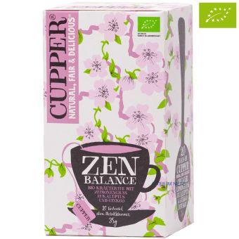 Cupper® Zen Balance Kräutertee / BIO 20 x 1,75 g