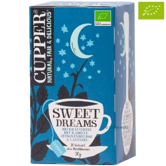 Cupper® Little Dreamer Kräutertee / BIO 20 x 1,5 g