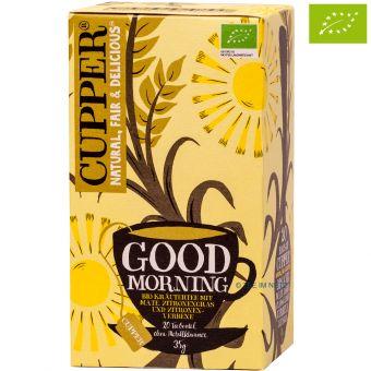 Cupper® Wonderful  Morning (Mate,Zitronengras,Verbene) / BIO 20 x 1,75 g