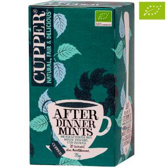 Cupper® After Dinner Mints (Minze, Fenchel, Ingwer) / BIO 20 x 1,9 g