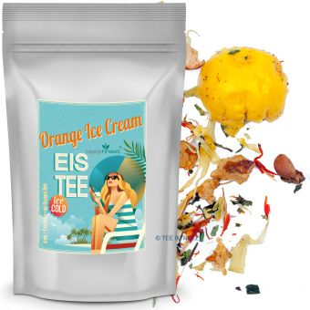 Eistee Orange Ice Cream