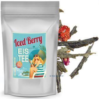 Eistee Iced Berry (Grüntee Erdbeere)