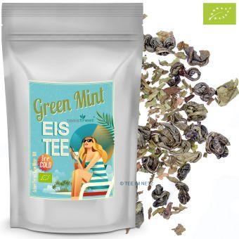 Eistee Green Mint a la Marakesch / BIO (Grüntee Minze)