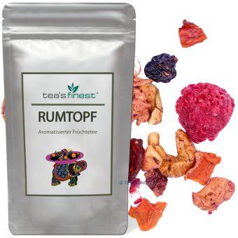 Früchtetee Rumtopf (Rum-Sahne-Vanille) 250 Gramm
