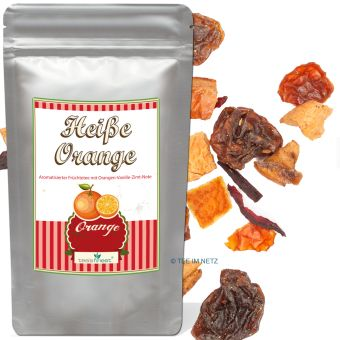 Füchtetee Heiße Orange 250 Gramm