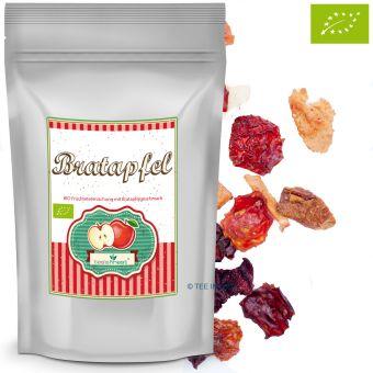 Früchtetee Bratapfel - BIO