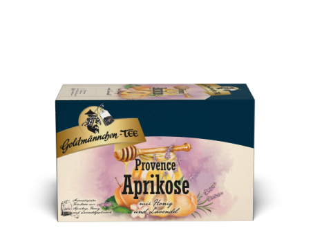 Goldmännchen-Tee Provence Aprikose 20 x 2.5 g