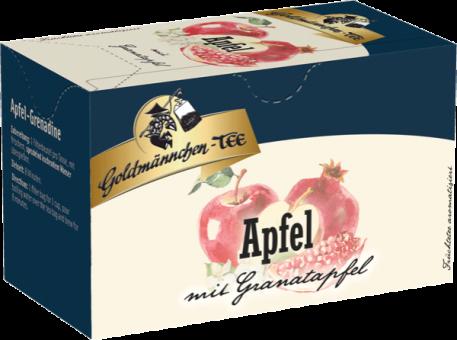 Goldmännchen-Tee Apfel mit Granatapfel 20 x 2.25 g