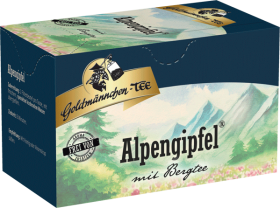 Goldmännchen-Tee Alpengipfel mit Bergtee 20 x 1.6 g