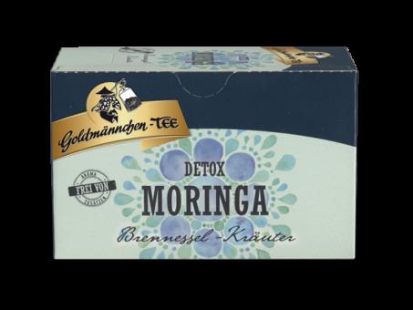 Goldmännchen-Tee Moringa Brennnessel-Kräuter 20 x 1.5 g