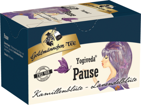Goldmännchen-Tee Yogiveda Pause / Kamillen-Lavendelblüte 20 x 1.5 g