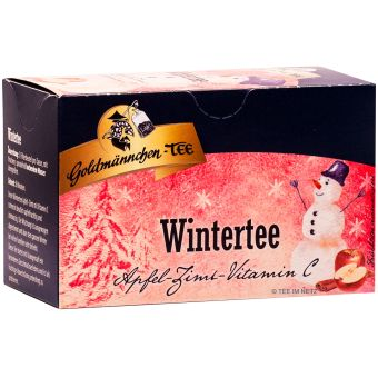 Goldmännchen-Tee Wintertee Apfel-Zimt mit Vitamin C 20 x 2.5 g