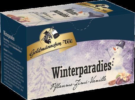 Goldmännchen-Tee Winterparadies Pflaume-Zimt-Vanille 20 x 2.5 g