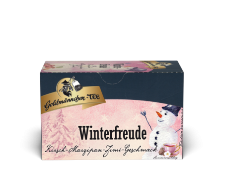 Goldmännchen-Tee Winterfreude Kirsche-Marzipan-Zimt 20 x 2.25 g