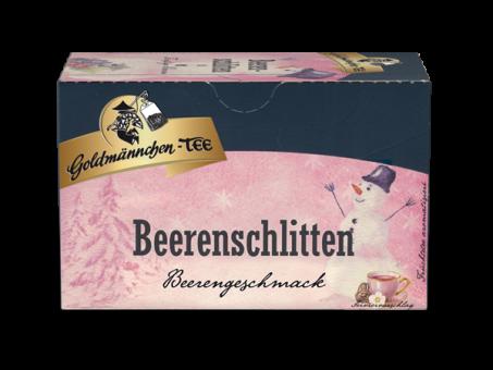 Goldmännchen-Tee Beerenschlitten 20 x 2.5 g