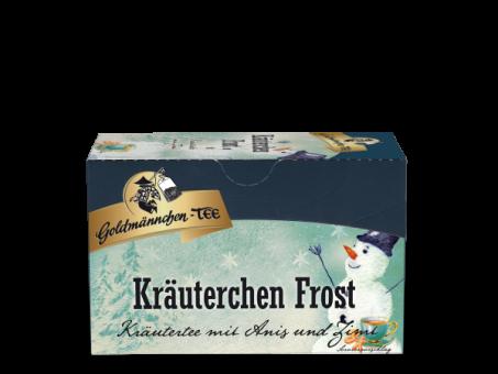 Goldmännchen-Tee Kräuterchen Frost 20 x 2.0 g