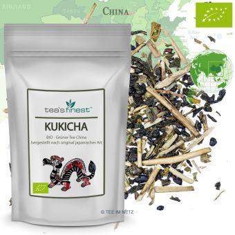 Grüner Tee Japan Kukicha - BIO 100 Gramm