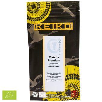 KEIKO Japan Matcha Premium Nachfüllbeutel / BIO 50 Gramm