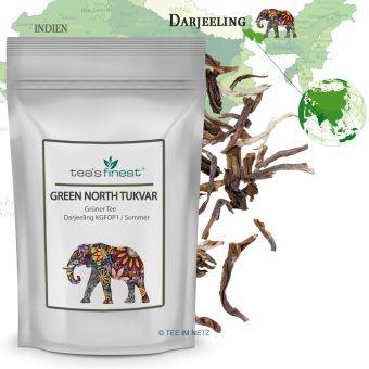 Grüner Tee Darjeeling Green North Tukvar KGFOP1