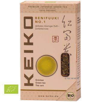 KEIKO Japan Grüntee Benifuuki No. 1 / BIO 50 Gramm