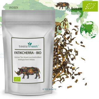 Grüner Tee Assam Fatikcherra / BIO 100 Gramm