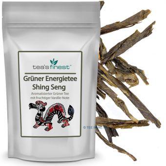Grüner Energietee Shing Seng (Kaktusblüte Ginseng)