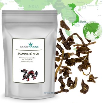 Grüner Tee Vietnam Rainforest Jasmin Chè Nhài