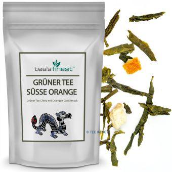 Grüner Tee Süße Orange 250 Gramm