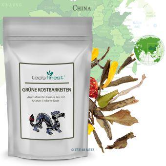 Grüner Tee Grüne Kostbarkeiten 250 Gramm