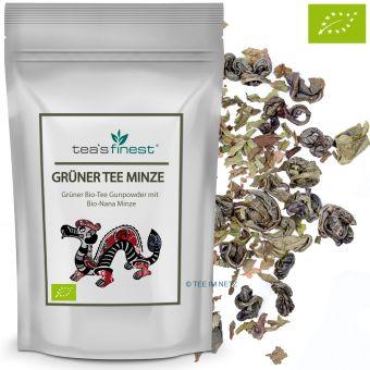 Grüner Tee Minze / BIO