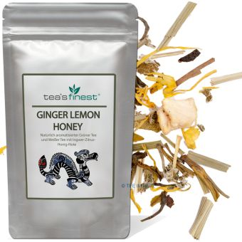 Grüner Tee Ginger Lemon Honey (Ingwer Zitrone Honig)