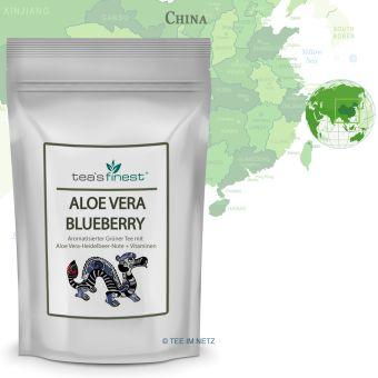 Grüner Tee Spirulina Algen (+ Vitamine)