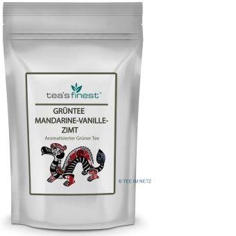 Grüner Tee Mandarine-Vanille-Zimt