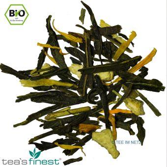 Grüner Tee Mandarine-Vanille / BIO ca. 4 Gramm