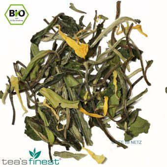 Grüner Tee Angels Tongue (Bergamotte-Vanille) / BIO