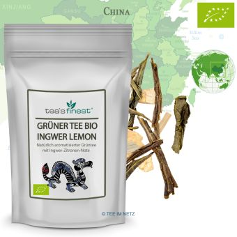 Grüner Tee Ingwer-Lemon natürlich - BIO