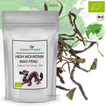 Grüner Tee Wu Lu (High Mountain Mao Feng) / BIO