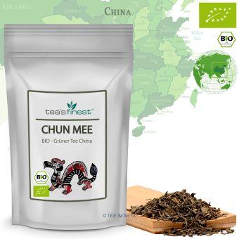 Grüner Tee Chun Mee / BIO 100 Gramm