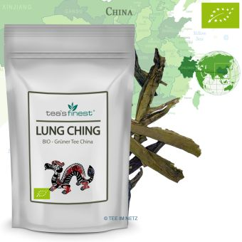 Grüner Tee Lung Ching / BIO 250 Gramm