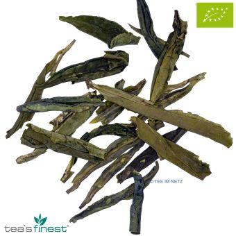 Grüner Tee Lung Ching / BIO ca. 4 Gramm
